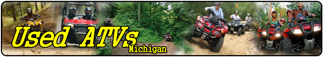 used atvs for sale in michigan